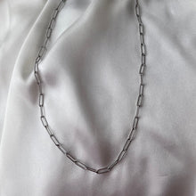 Load image into Gallery viewer, Textured Paperclip Chain Necklace