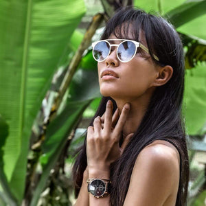 Berlin Gold Gradient Brown | Kapten & Son SUNGLASSES