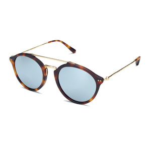 Fitzroy Tortoise Blue Mirrored