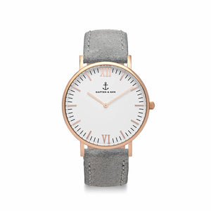 Campina Grey Vintage Leather | Kapten & Son WATCHES