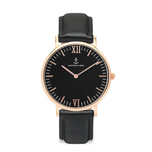 Campus All Black | Kapten & Son WATCHES