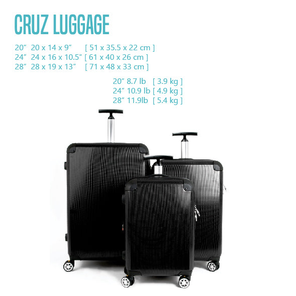 J WORLD CRUZ LUGGAGE
