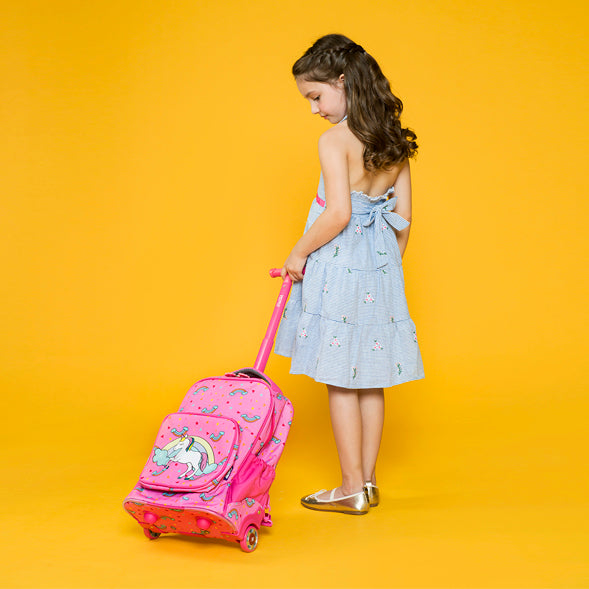 KRB-15 ROLLING BACKPACK SPARKLE