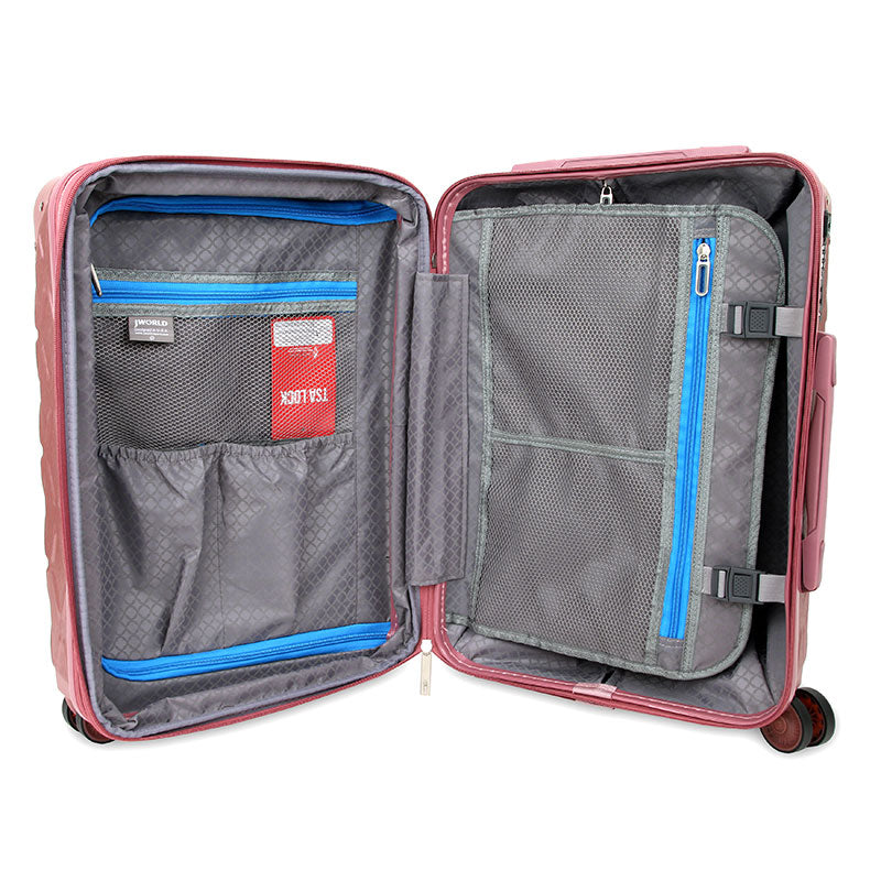 "DIA LIGHTWEIGHT POLYCABONATE LUGGAGE (20"")"