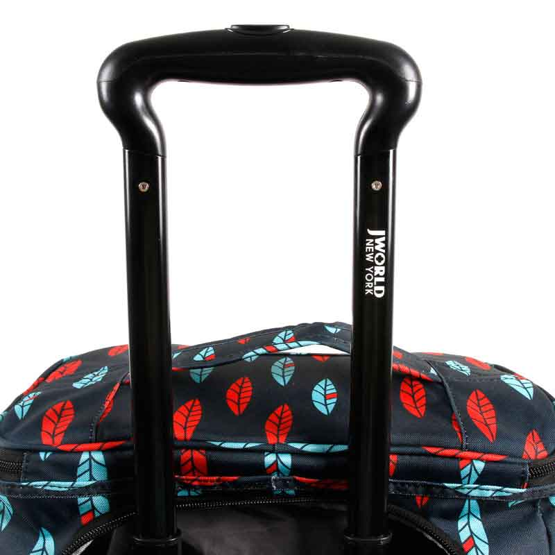SHOPPER ROLLING CART (18.5 inch) - JWorldstore-ROLLING DUFFLE BAG-J World New York,