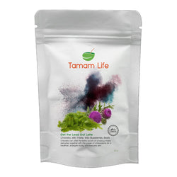 Tamam Life Co. Get the Lead Out Latte Label Front