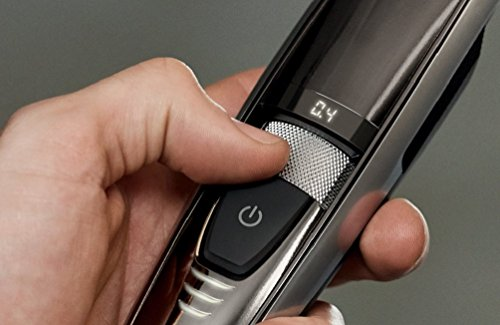 Philips Series 9000 Laser Guided Beard and Stubble Trimmer for Precise Symmetrical Beards