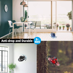 Flying Spinner Hand Operated Drone, Mini UFO with Fast Charging and LED Lights