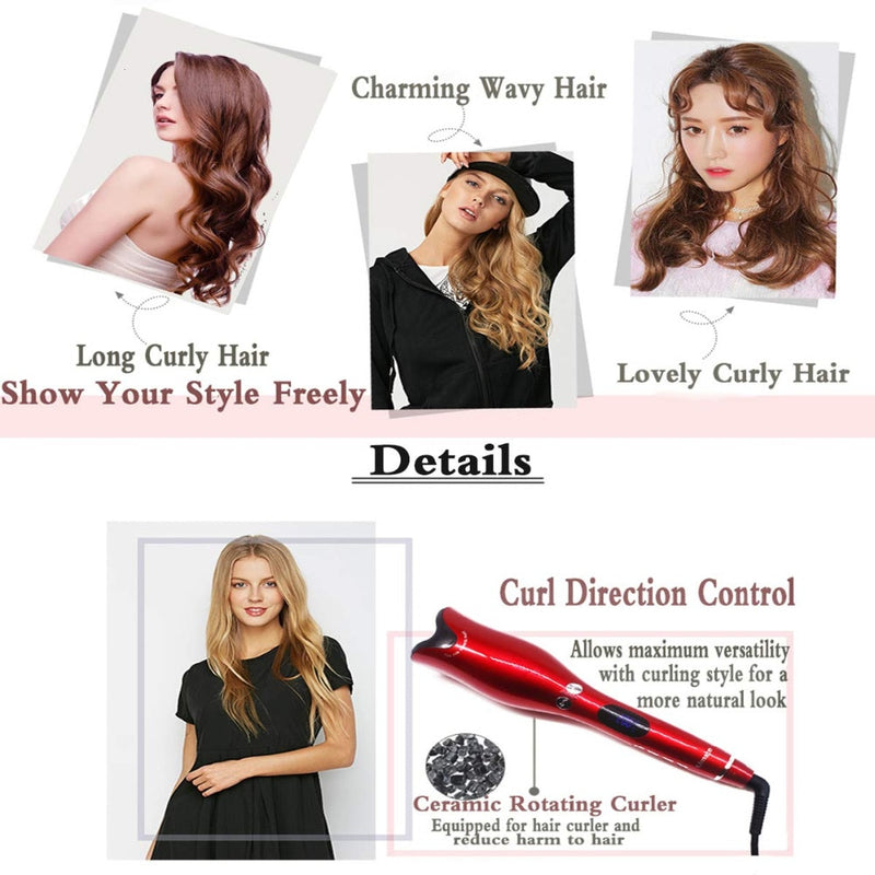 SuperCurl® The New 2020 Best Automatic Hair Curling Iron - UK
