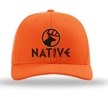 Native Hunters Orange Hat