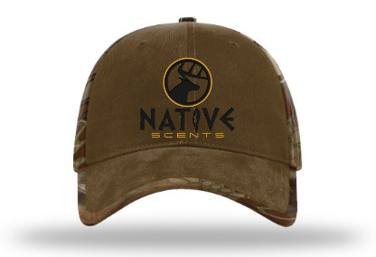 Native Scents Duck Cloth With Kryptek Back