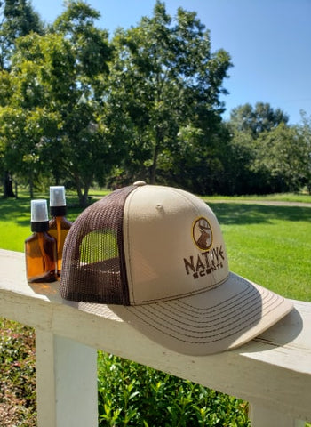 Native Scents Khaki/Coffee Hat