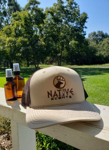 Image of Native Scents Khaki/Coffee Hat