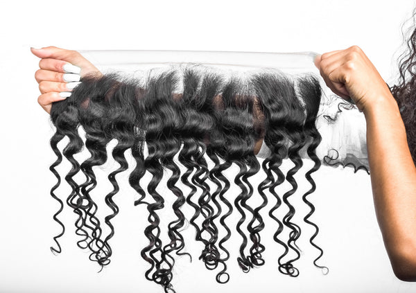 Mongolian Tight Curl Frontal