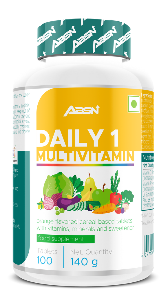 Absn daily 1 multivitamin 100 tablets