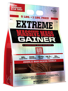 Elite Labs Massive Mass Gainer 6lbs