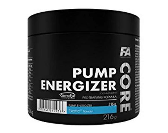 FA NUTRITION CORE PUMP ENERGIZER Pre workout