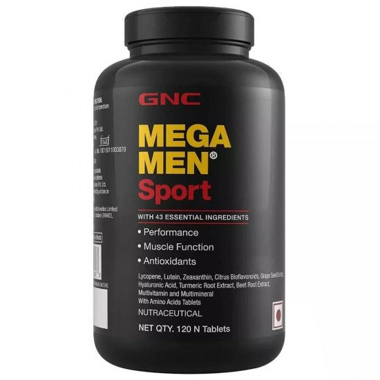 GNC MEGA MEN SPORT 120 TABLETS