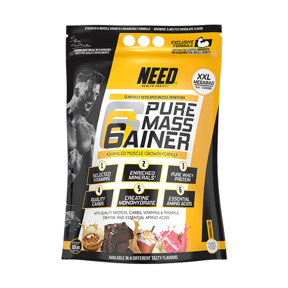 Need supplements Pure Mass 10lbs