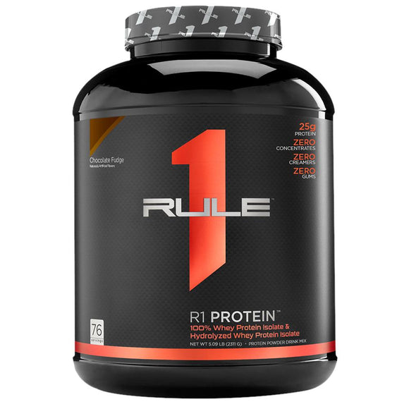 rule 1 whey protein isolate + hydrolyzed 5lbs