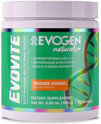 evovite 30 servings multivitamin