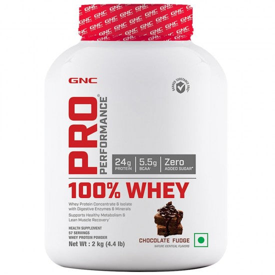 GNC PRO PERFORMANCE 100% WHEY PROTEIN 2KGS