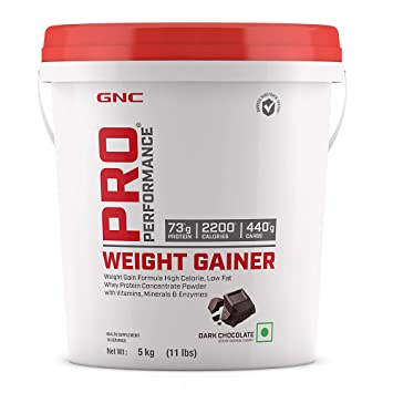 GNC PRO PERFORMANCE WEIGHT GAINER 5KGS