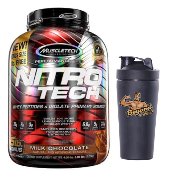 Muscletech Nitrotech 5lbs (milk chocolate)