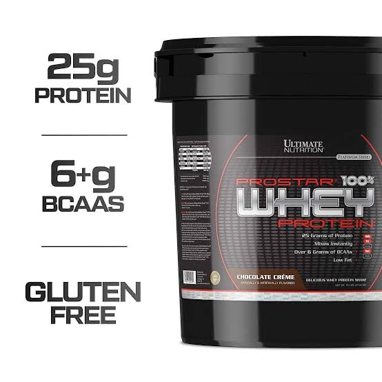 Ultimate nutrition prostar whey protein 5.28lbs