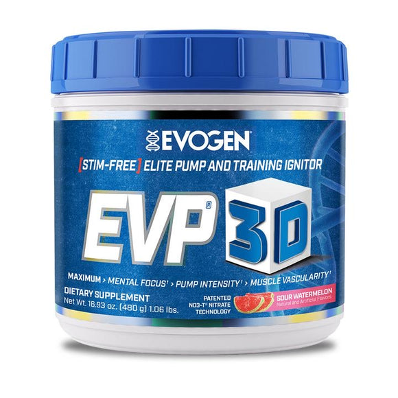 EVOGEN EVP-3D PREWORKOUT 20/40 servings