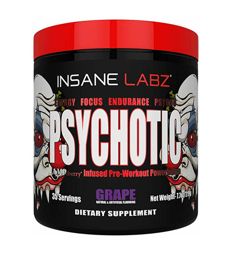 Insane Labz Pyschotic prewokout 35 servings