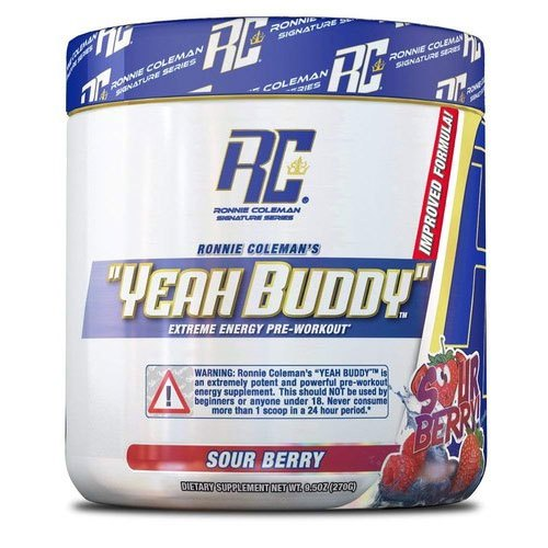 Ronnie Coleman Yeah Buddy 30 servings (buy 1 get 1 free)