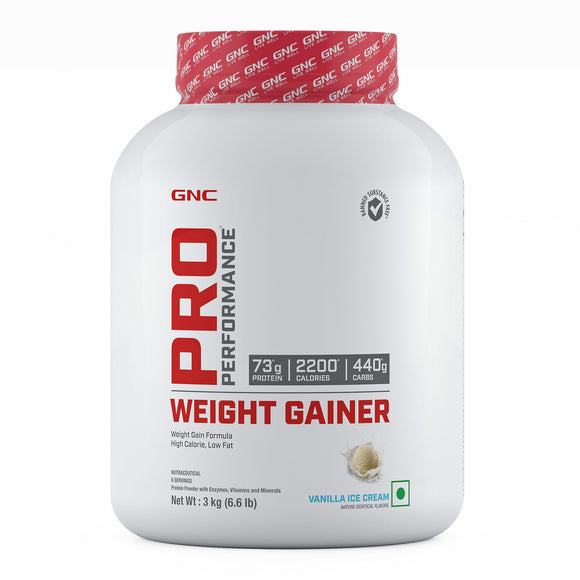 GNC PRO PERFORMANCE WEIGHT GAINER 3KGS