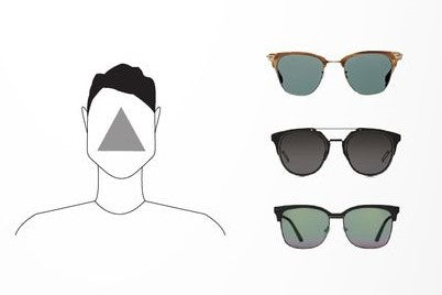 glasses for triangle face men