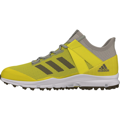 Zapatillas Hockey Adidas Zone Dox Amarillo Gris
