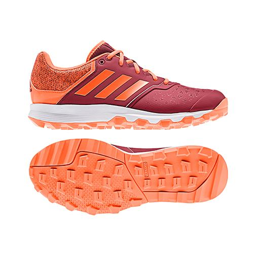 Zapatillas Adidas FLEXCLOUD Granate/Naranja