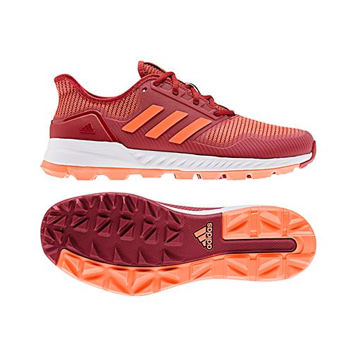 Zapatillas Adidas ADIPOWER HOCKEY Granate/Naranja