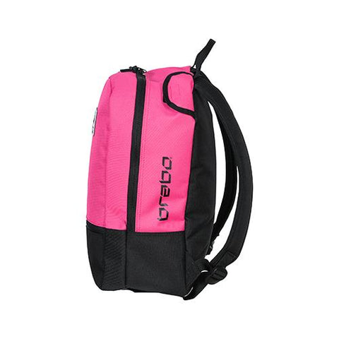 Mochila Brabo Junior Team TC Negro Rosa
