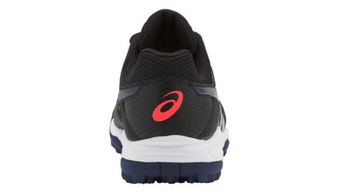 Zapatillas Asics Hockey Gel-Lethal Mp 7 Negro y Azul Navy