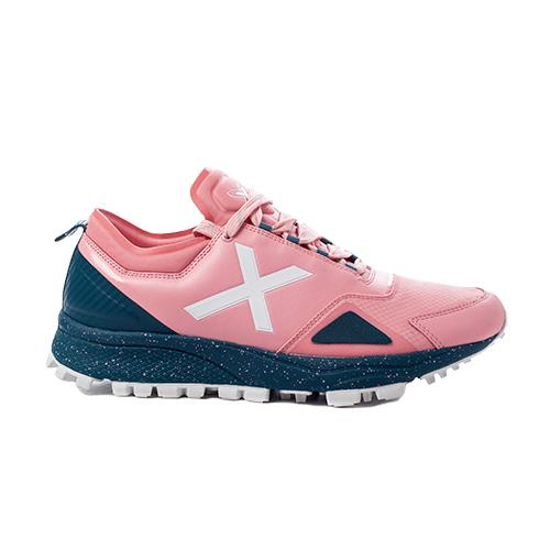Zapatillas Munich HOOK 2 Rosa Azul