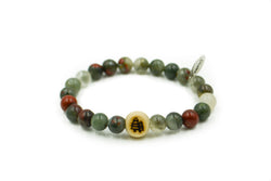 Elastic | Natural Bloodstone
