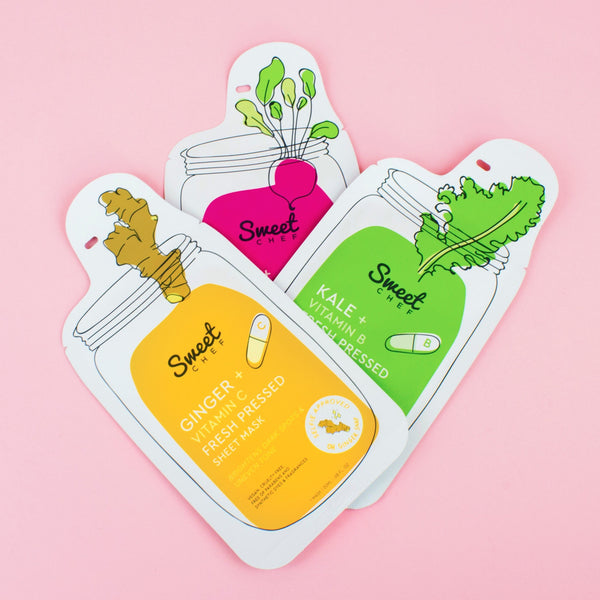 Sheet Mask Trio (Value $10.50)