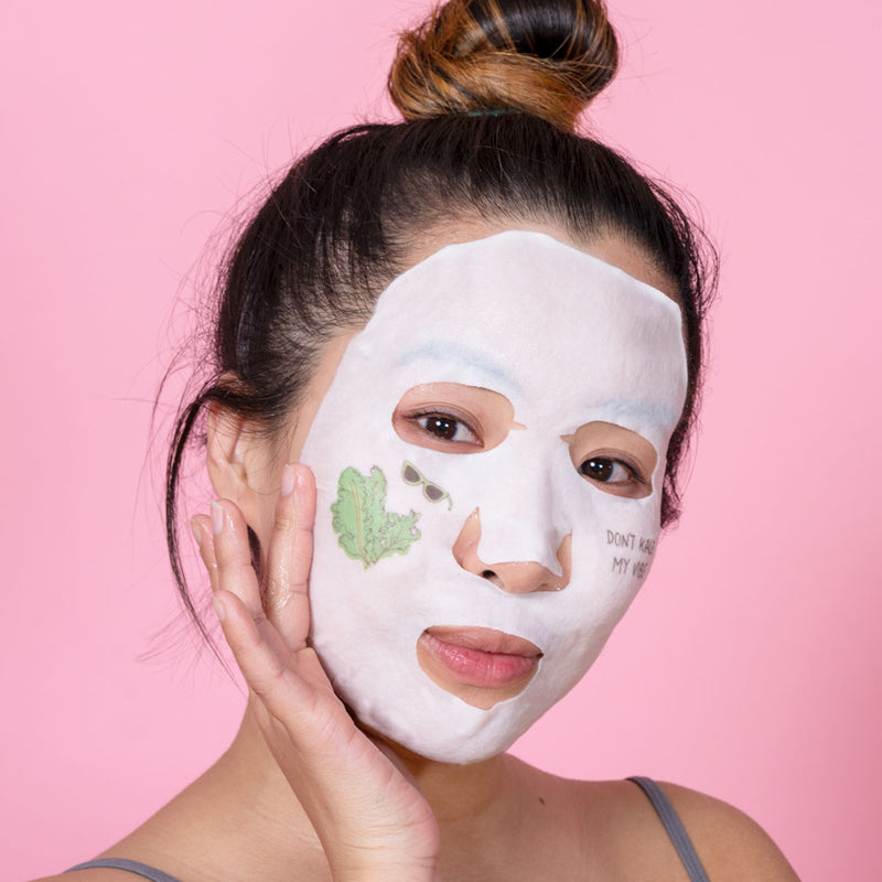 Kale + Vitamin B Fresh Pressed Sheet Mask