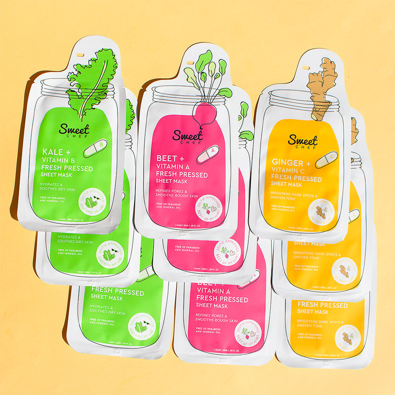 20-Piece Sheet Mask Bundle (Value $70)