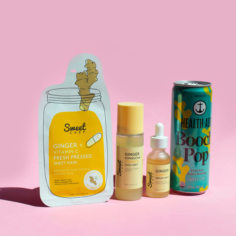 Sweet Chef x Health-Ade Booch Pop: Ginger Essentials Set (Value $40)