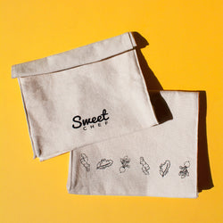Canvas Roll Up Pouch