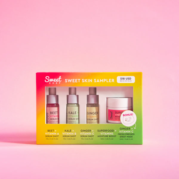Sweet Skin Sampler (Value $23.50)