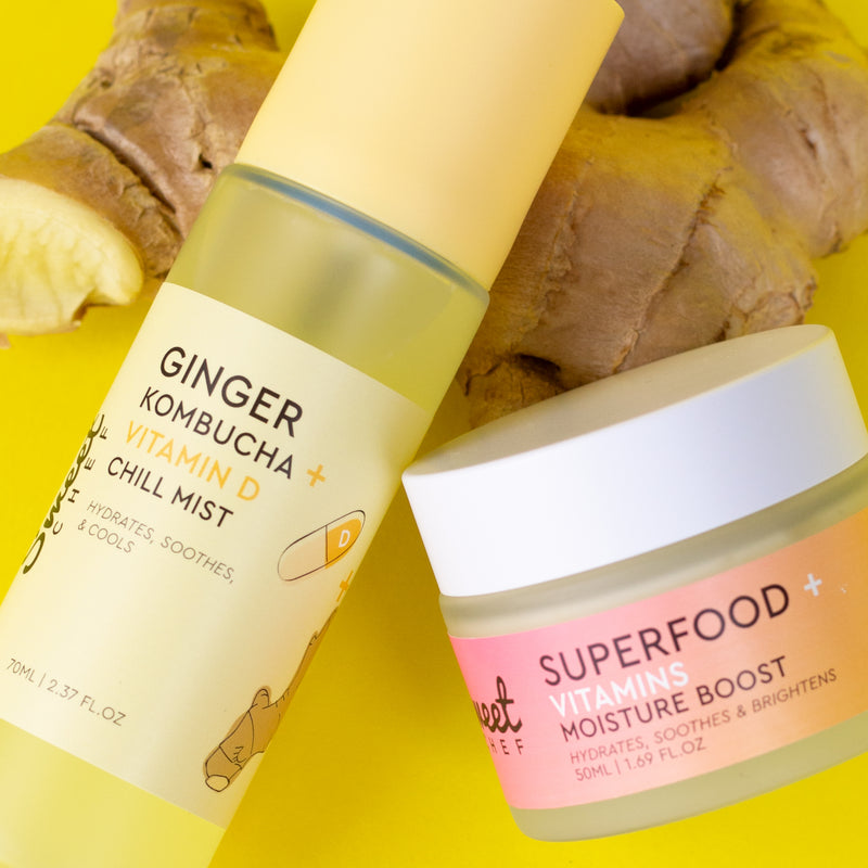 Superfood Moisturizer + Ginger Mist Set (VALUE $36)
