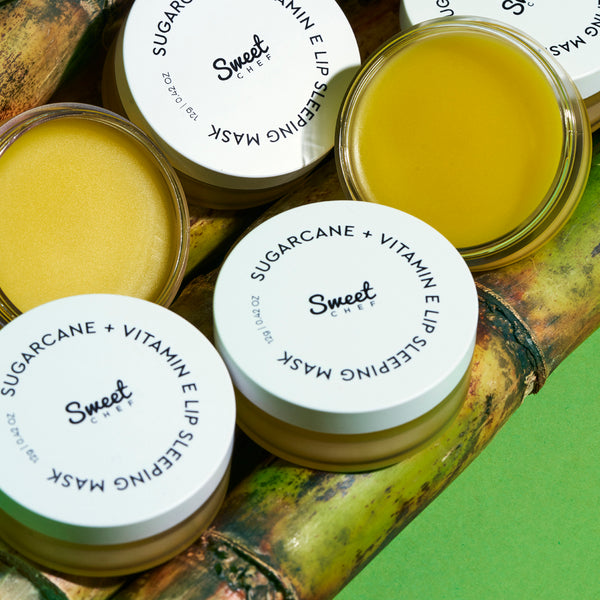 SUGARCANE + VITAMIN E LIP SLEEPING MASK