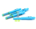 CUESOUL TERO FLIGHT SYSTEM AK7 Dart Shafts Built-in Spring Telescopic, Set of 4 pcs (8 Length Choices & 9 Color Options)